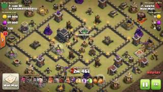 Clash of Clans War -Clan Wani Mati- Th9 vs Th10 clan Wani Mati by :sento