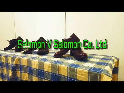 Salomon V Salomon Co. Ltd (1897)  -  Company Law