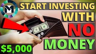 How To Start Dividend Investing With Little Money. M1 Finance Dividend Portfolio.