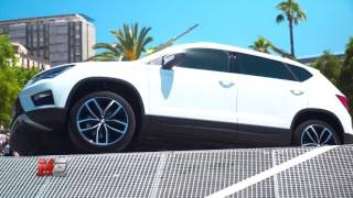 New seat ateca 2016 - first test drive only sound