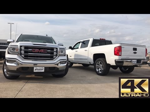 2017 Chevrolet Silverado LTZ VS 2017 GMC Sierra SLT - Comparison