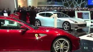 Les nouveaux modèles au salon de l'auto à Genève