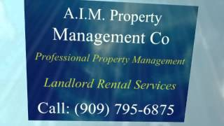 Property Management Co In Redlands Ca Yucaipa Ca