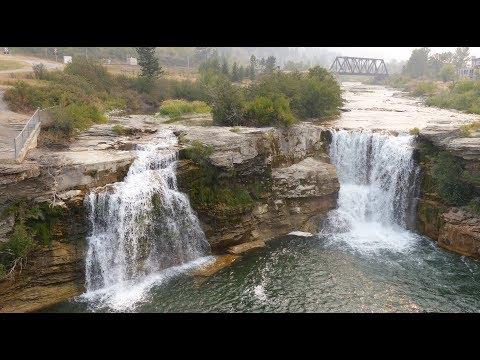 Lundbreck Falls - Alberta - Canada
