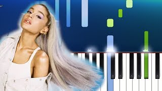 Ariana Grande - Imagine Piano Tutorial