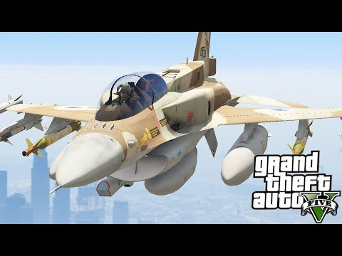 GTA V F-16I Sufa (Israeli Air Force)