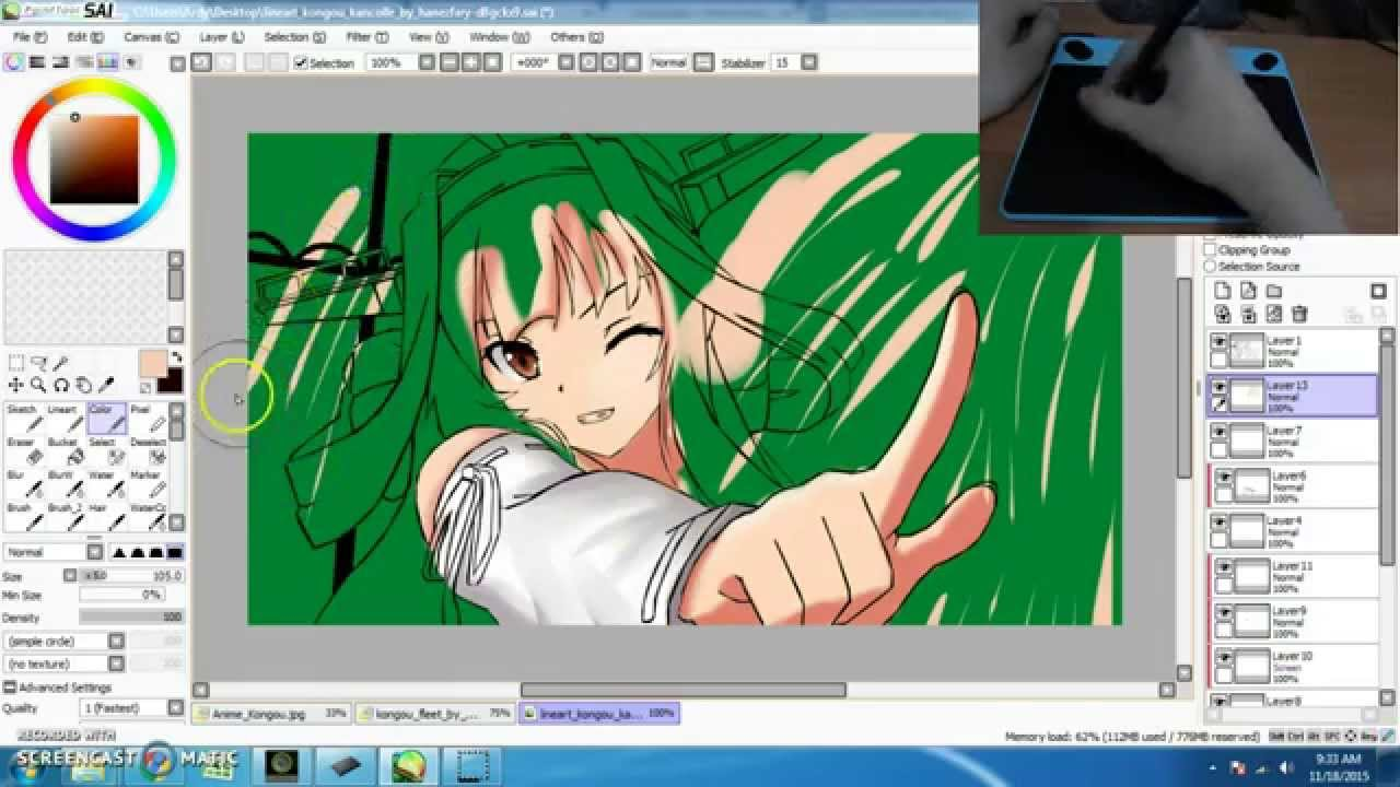 how to get wacom intuos manga software