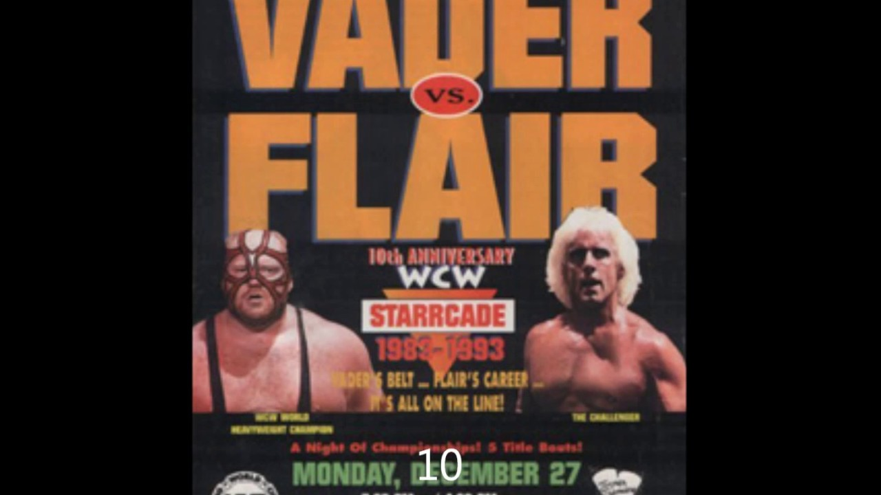 Ranking Starrcade PPVS From Worst to Best