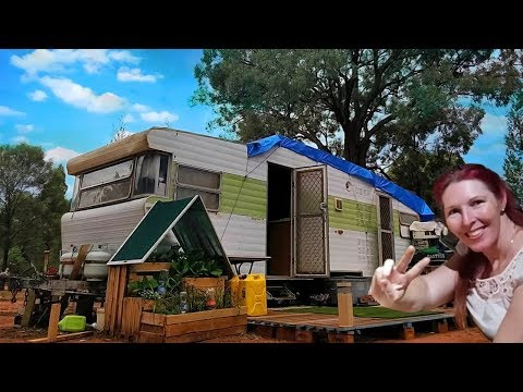 Living Off Grid In A Caravan For 1 Year