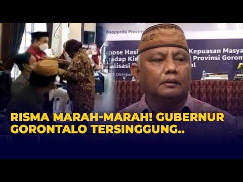 Gubernur Gorontalo Tersinggung Gara-Gara Mensos Risma Marah Ke Warganya Karena Urusan Data