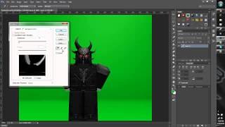 ROBLOX Greenscreen Tutorial for PS CS7