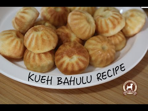 KUEH BAHULU RECIPE (Chinese New Year Treat For Dogs!)