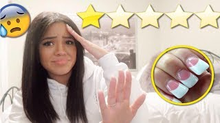 Going To The WORST REVIEWED Nail Salon In My City *1 STAR*