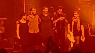 Sophie Hunger: Train people (live) - letzte Zugabe