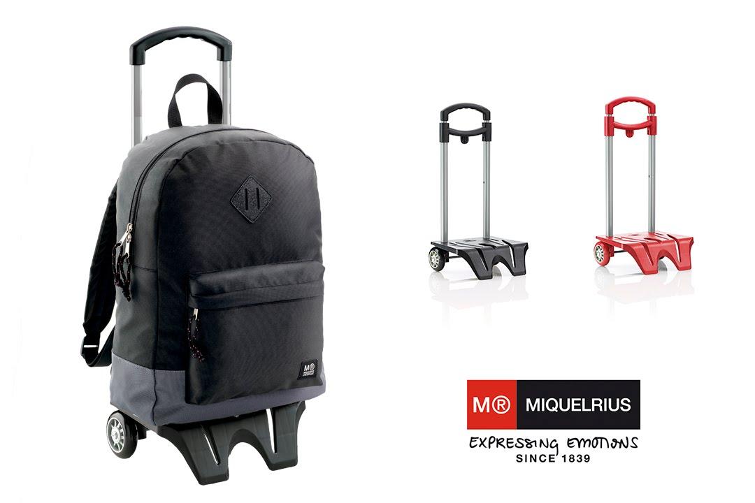 C mo poner una mochila a un trolley miquelrius 2016 for Como colocar una mochila de inodoro