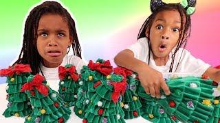 Don't Choose THe Wrong Christmas Tree Slime