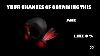 Your Chances of Obtaining Deadly Dark Dominus I Roblox Random Talk
