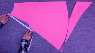 Umbrella Palazzo Cutting and Stitching at Home/बहुत आसान तरीके से हर साइज का अम्ब्रेला प्लाज़्ज़ो