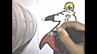 how to draw minato namikaze from naruto