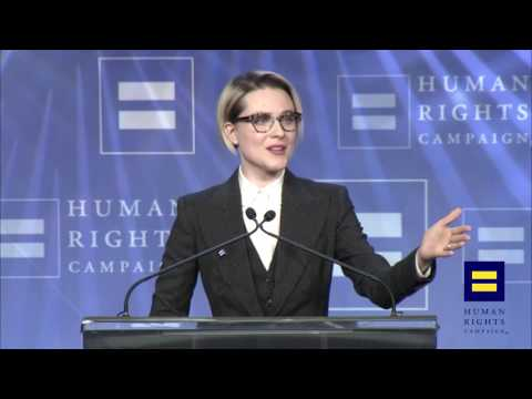 Evan Rachel Wood Receives the HRC Visibility Award