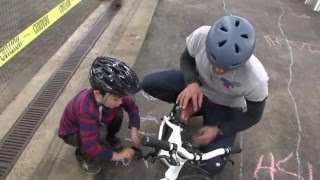Teach your child to ride in 3 steps - no training wheels