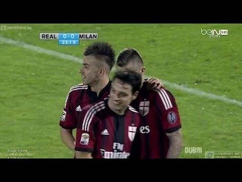Real Madrid vs Ac Milan 2-4 Friendly Match HD 2014 - Jeremy Menez Goal