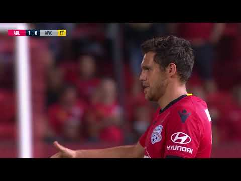A-League 2018/19: Round 26 - Adelaide United v Melbourne Victory (Full Game)
