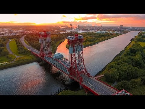 DJM Aerial Solutions - Drone Video of Middlesbrough - Teesside - North Yorkshire
