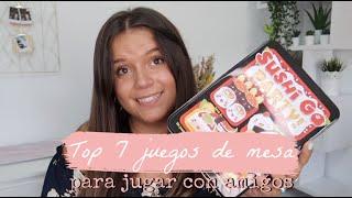 TOP 7 JUEGOS DE MESA PARA JUGAR CON AMIGOS | Laura Yanes