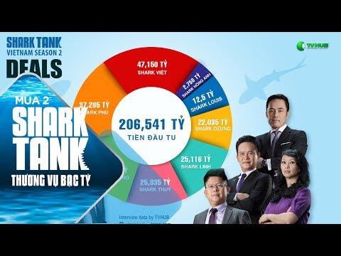 Số Tiền Đầu Tư Ấn Tượng : 206,541 Tỷ   Shark Tank Việt Nam   Thương Vụ Bạc Tỷ Mùa 2