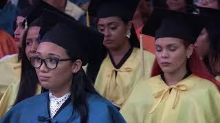 UASDTV-Palabras  estudiante meritorio promoción Noviembre 2017