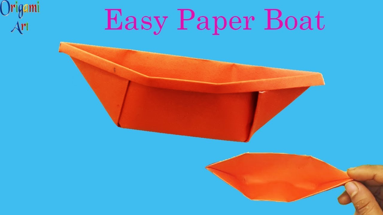 Yacht - Easy Origami instructions For Kids   720x1280