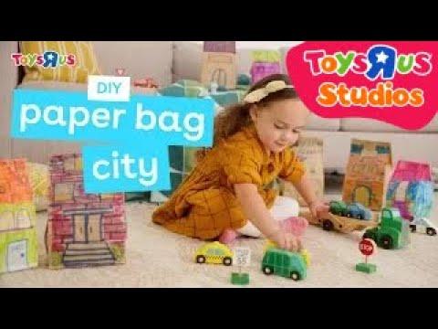 Paper Bag City – a Creative DIY for Kids