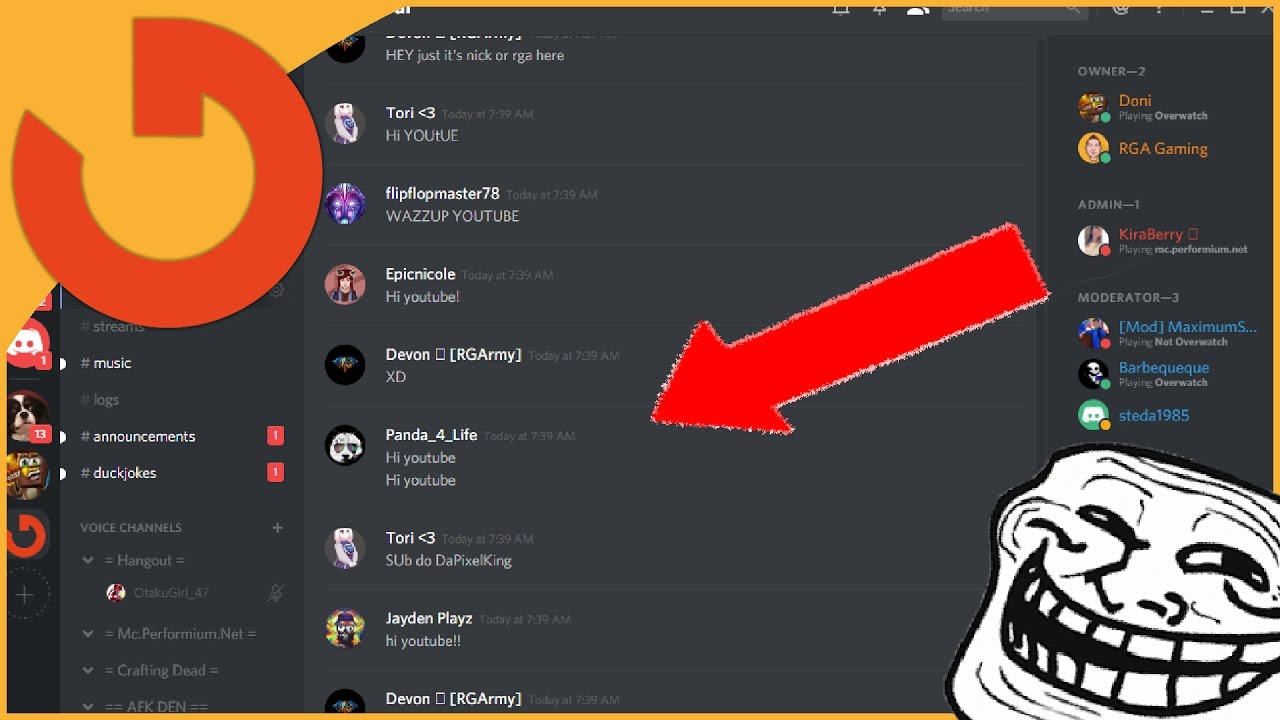how to delete discord servers