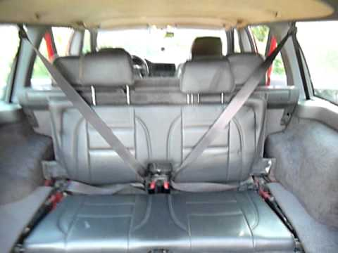 how to flip up and refold a third row seat in a volvo 850 youtube. Black Bedroom Furniture Sets. Home Design Ideas