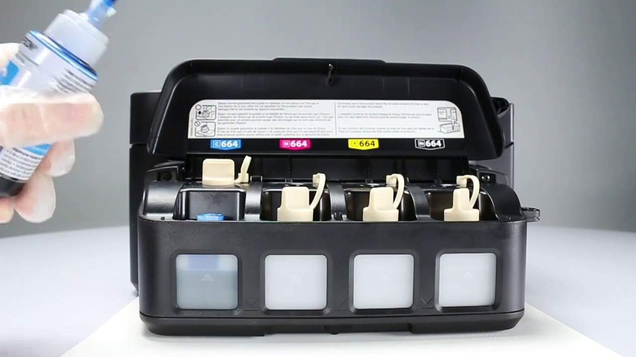 Epson Expression How to Fill Your EcoTank Printer ink 664