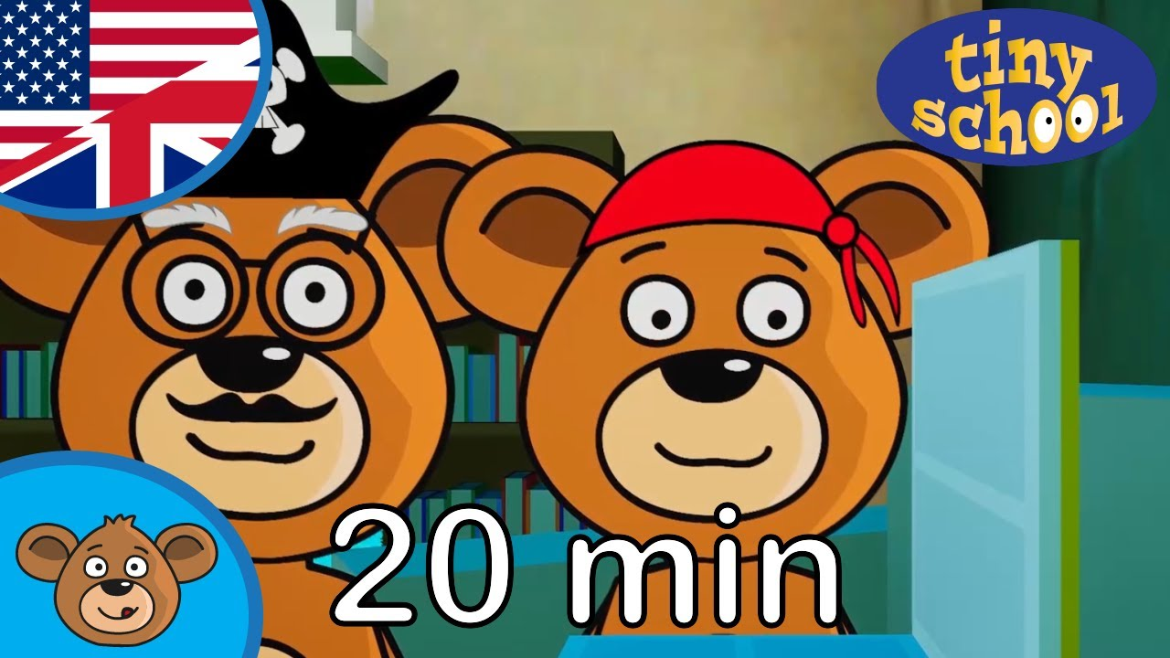 Bear Family Cartoon - Brother Bear and Grandpa Bear goes ...