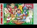 Pokémon The Series: Sun & Moon Ultra Legends Intro - 2 Hours