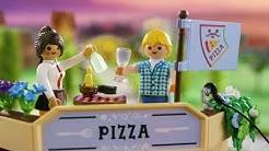 PLAYMOBIL 70336 Pizzeria mit Gartenrestaurant - Smyths Toys Superstores Deutschland
