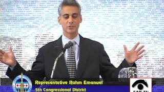 Hon. Rahm Emanuel, Congressman, U.S. House of Representatives, Illinois