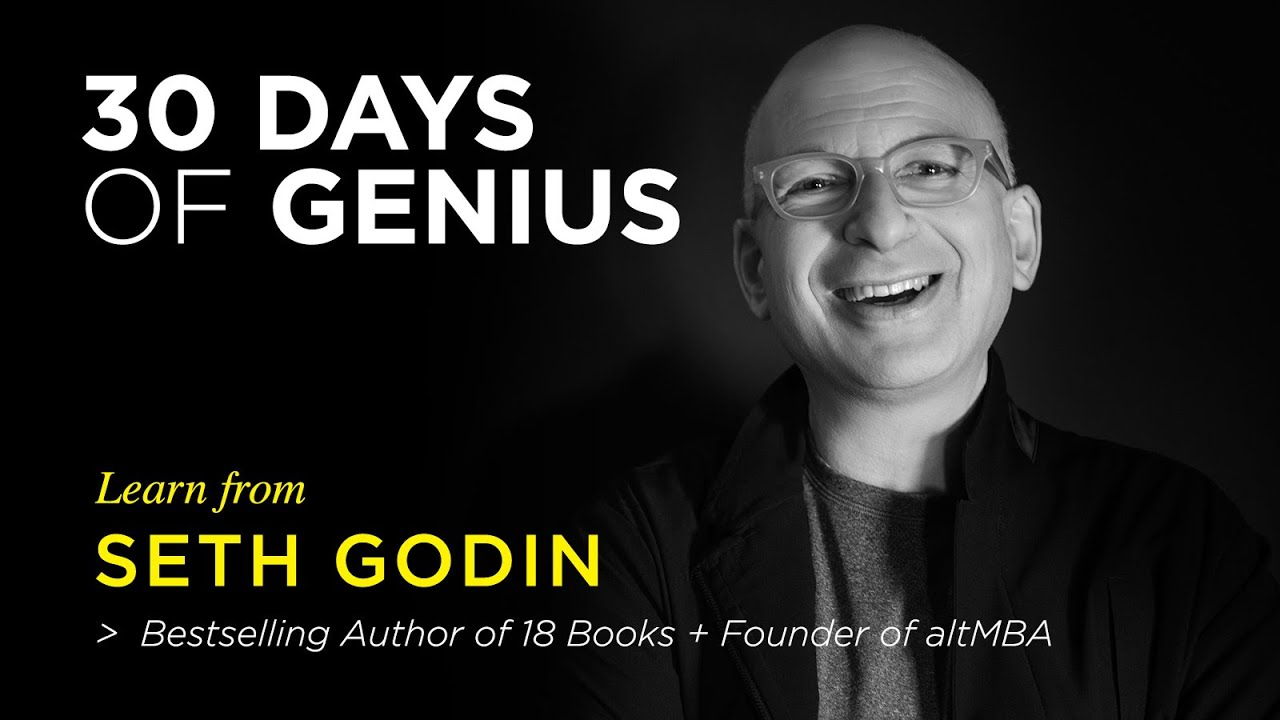 Seth Godin on CreativeLive | Chase Jarvis LIVE | ChaseJarvis