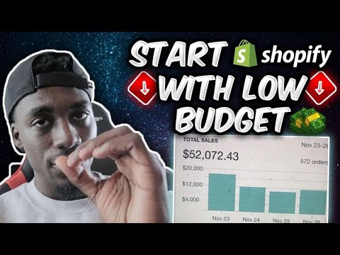 I Started Shopify Dropshipping! How to Start With a Low Budget! (2019)