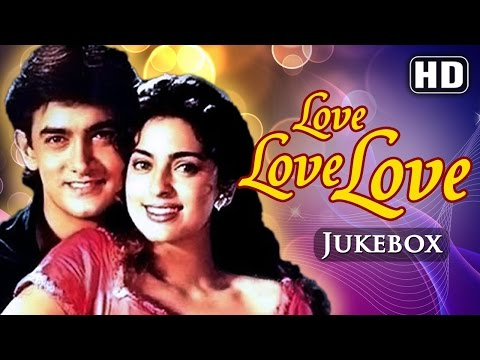All Songs Of Love Love Love {HD} - Amir Khan - Juhi Chawla - Best Hindi Songs thumbnail