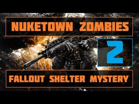 Nuketown Zombies Fallout Shelter Easter Egg | Part 2!