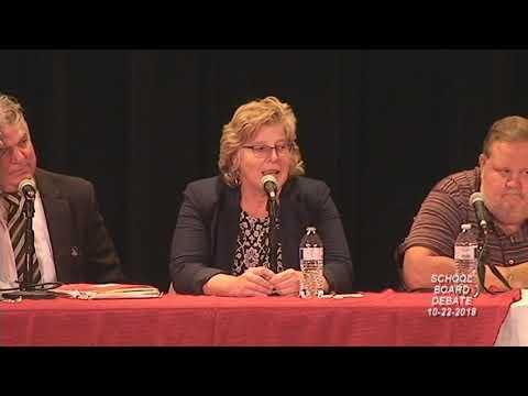 Fergus Falls MN School Board Debate 10-22-2018