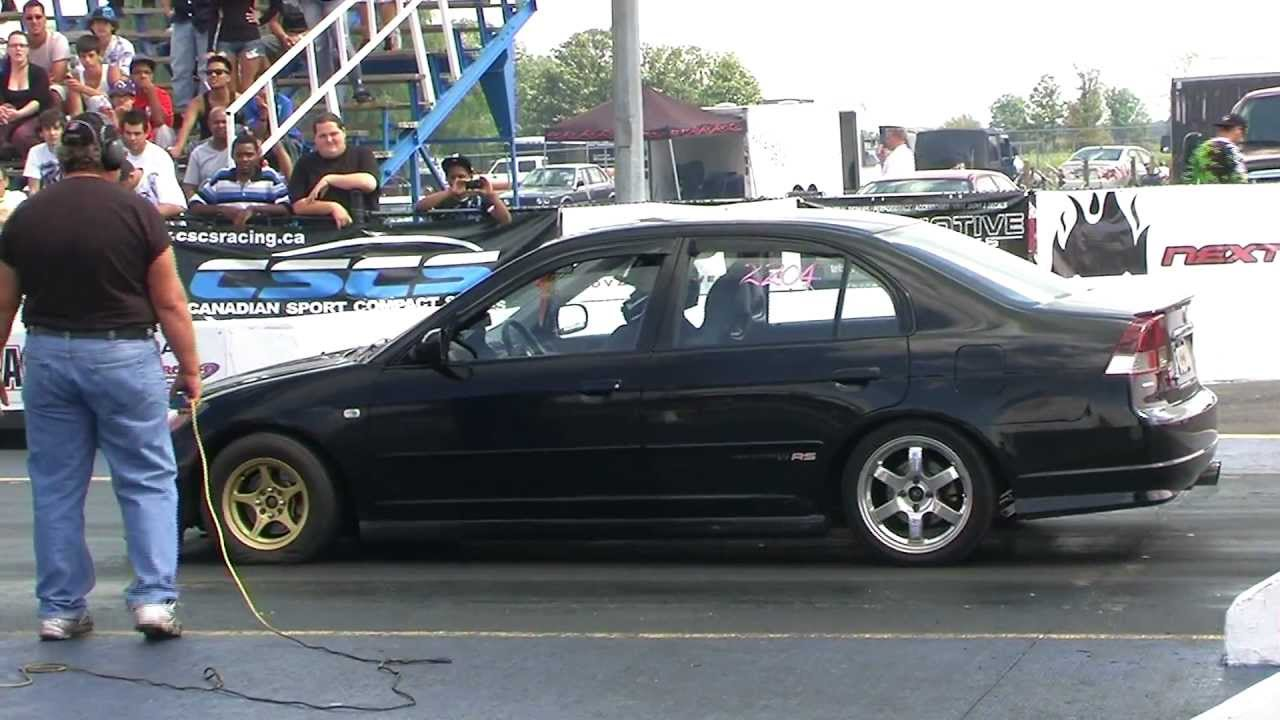 Turbo 4 Door Honda Civic Youtube