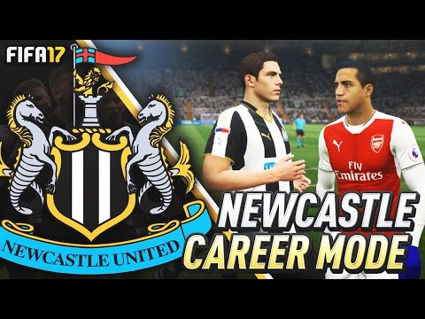 ARSENAL VS NEWCASTLE IN THE CUP!!! FIFA 17 Newcastle United Career Mode #6