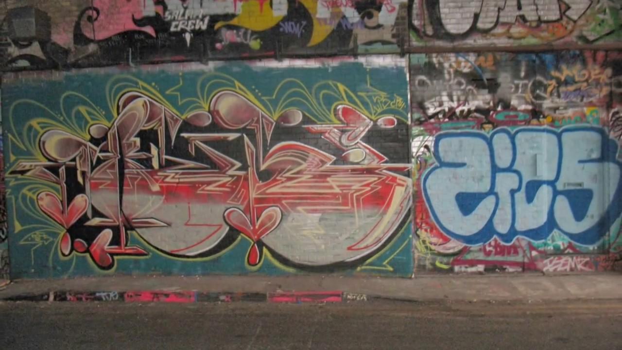 Graffiti On London Streets Youtube