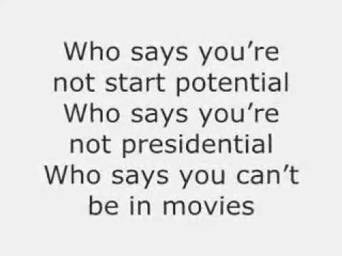 Who Says By Selena Gomez (Lyrics)