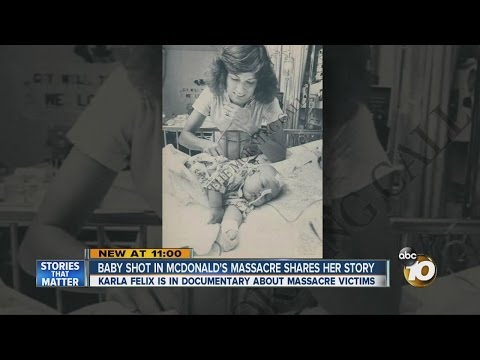 Shot in the head: 32 years later, McDonald's Massacre survivor shares her story